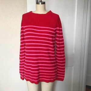 Lands End striped sweater size 2-4